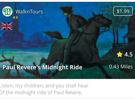 "The ""Paul Revere's Midnight Ride"" Tour"