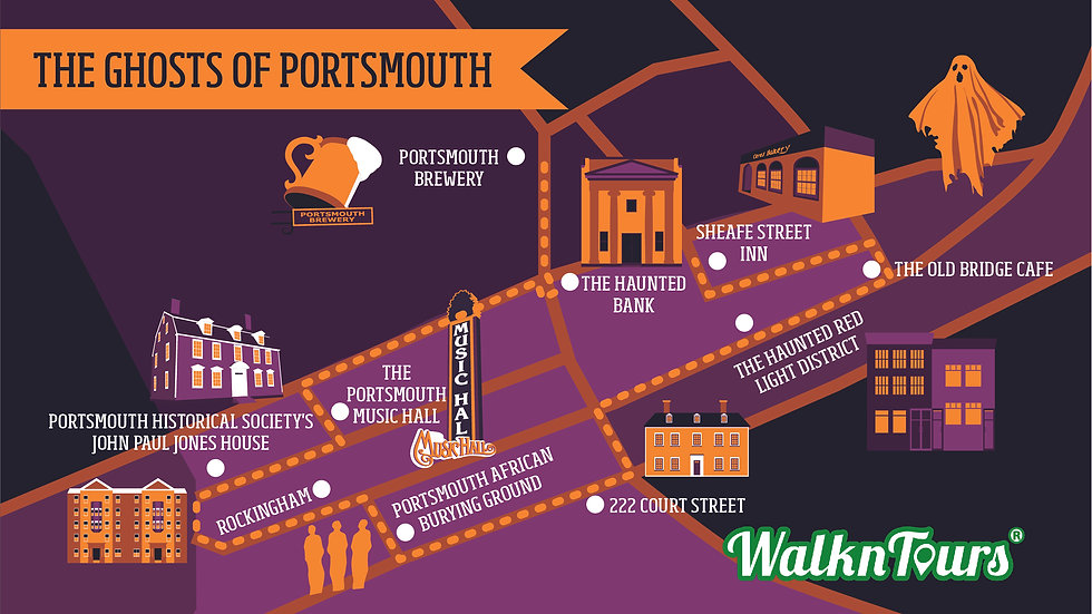 The Ghosts of Portsmouth Haunted Tour