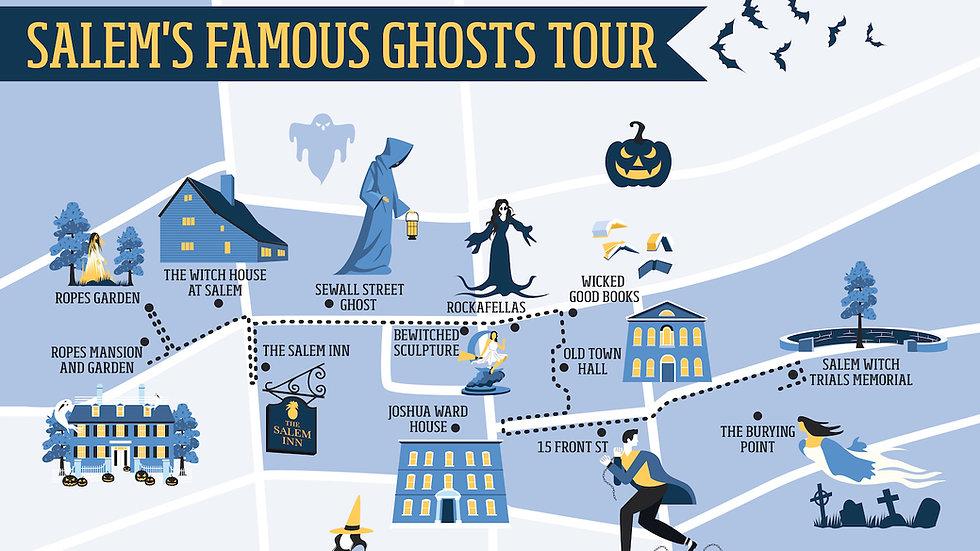 Salem's Famous Ghosts Tour