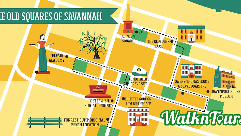 The Old Squares of Savannah