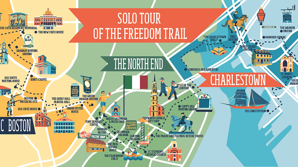 The Freedom Trail Bundle Ticket (3 Tours in 1)