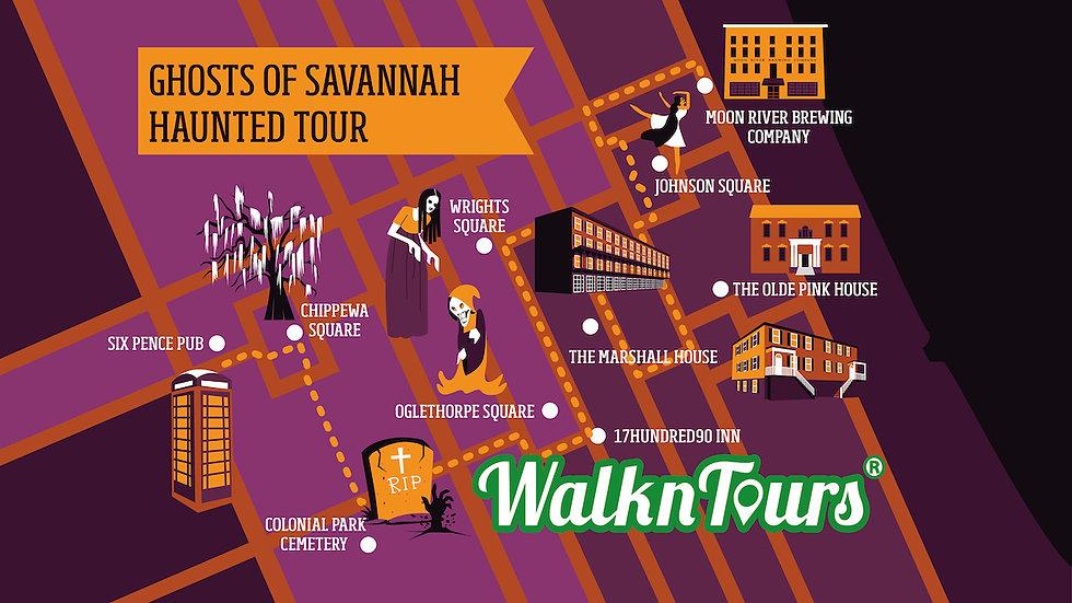 The Ghosts of Savannah Haunted Walking Tour
