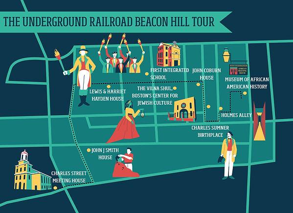 The Underground Railroad Beacon Hill Tou