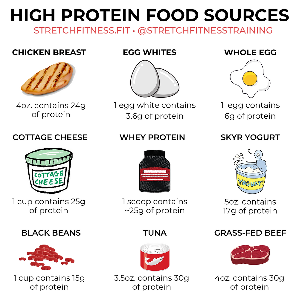 High Protein Food Sources