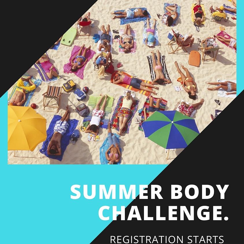 Summer Body 60-Day Challenge Registration