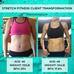 STRETCH FITNESS CLIENT TRANSFORMATION