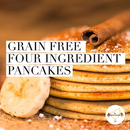 Grain Free 4-Ingredient Pancakes