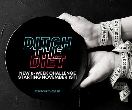 DITCH THE DIET CHALLENGE -CURRENT SWEAT CLUB MEMBERS