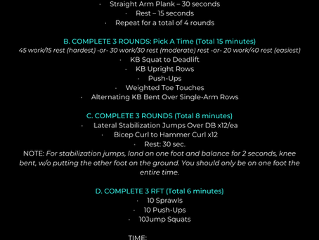 At-Home SWEAT CLUB Workout!