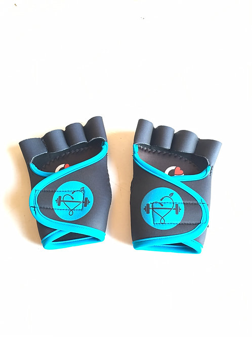 DTF Logo'd Custom G-Loves Workout Gloves