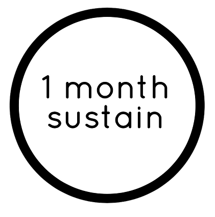 1-MONTH NUTRITION SUSTAIN