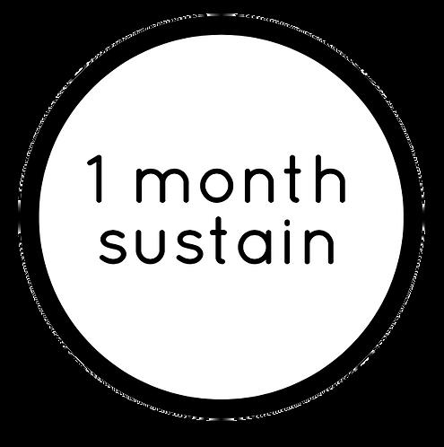 1-MONTH NUTRITION SUSTAIN