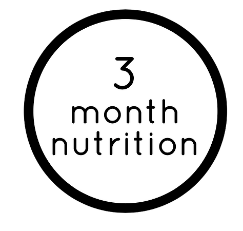 3-MONTH NUTRITION COACHING