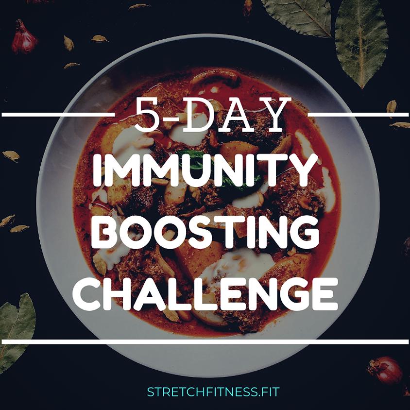 FREE 5-DAY IMMUNITY BOOSTING CHALLENGE