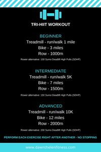 TRI-HIIT Workout