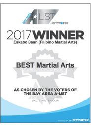 2017 Winner in the Bay Area A-List