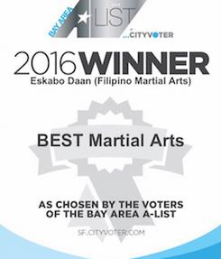 2016 Winner in the Bay Area A-List