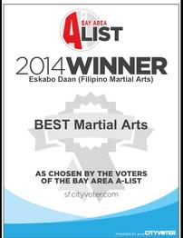 2014 Winner in the Bay Area A-List