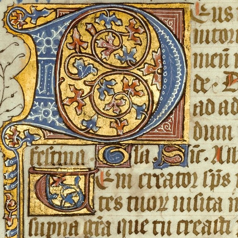 Medieval Manuscripts and Illuminated Letters