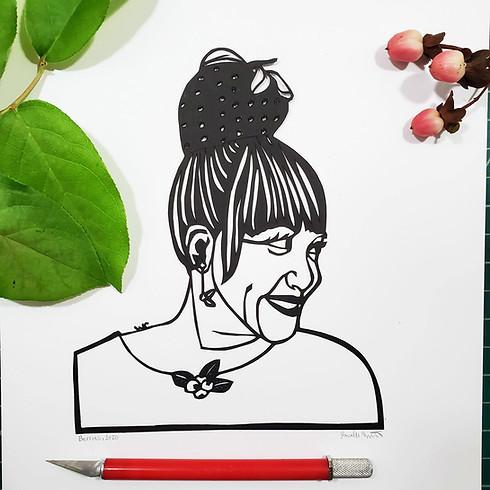 Paper Cut Portraits