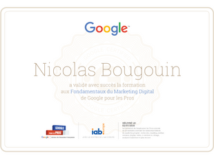 Certification Marketing digital Google pour les pros, un plus pour le référencement local