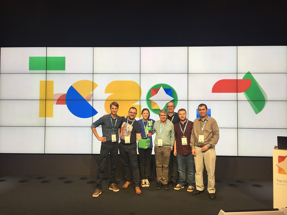 équipe des experts Googles France à Dublin pour le summit TC 2017 à Google !