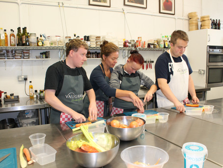 Young Adult Carers Learn to Cook