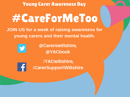 Young Carer Awareness Day - Join us for a week of raising awareness