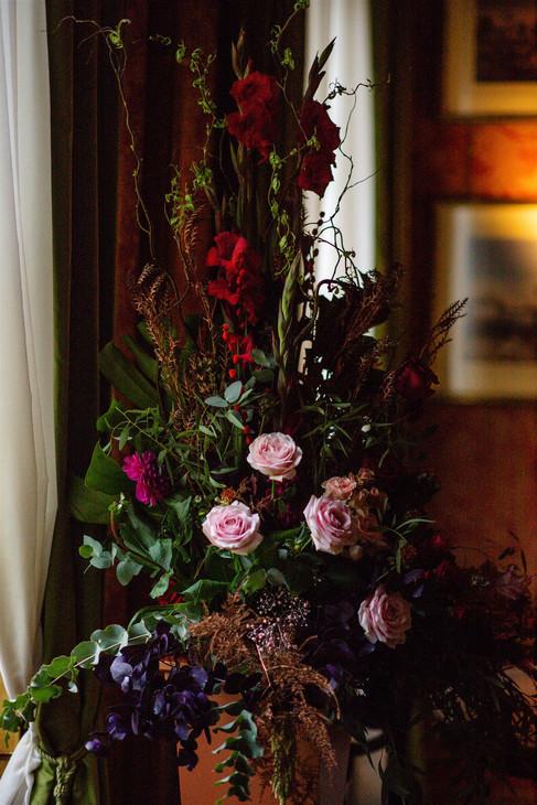 Deep tones for florals