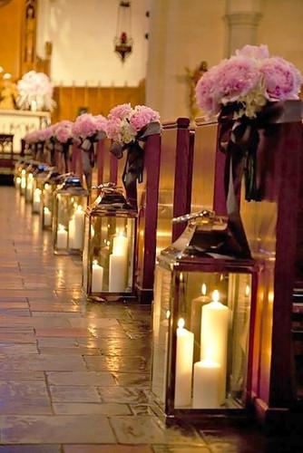 Aisle decoration