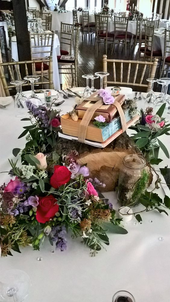 Beauty and the Beast wedding flowers