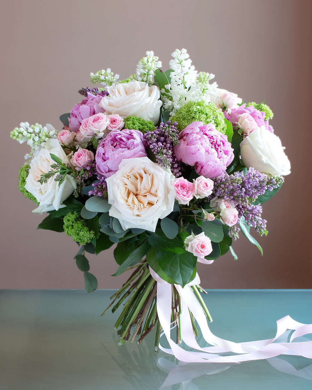 A secnted posy of fragrant flowers