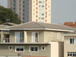 Telhado para condominios