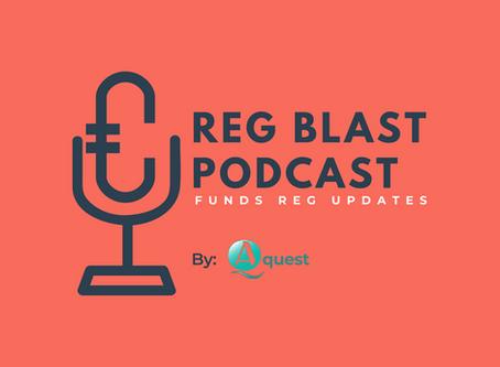REG BLAST PODCAST – 27 April 2019