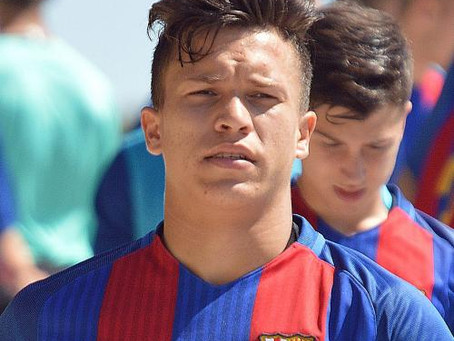 'I will be forever grateful to La Masia & Barca for helping me become the player I'm today'