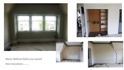 Client Bedroom Before Pictures