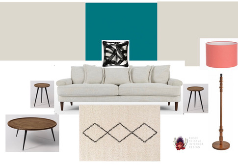 Mood Board Client Lounge