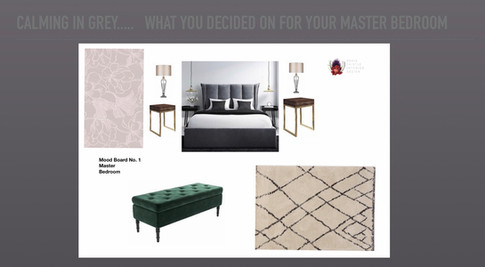 Client Bedroom Makeover Mood Board/concept