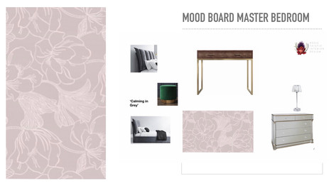 Client Bedroom Makeover mood board