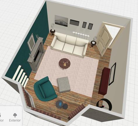 Floor Plan Client Lounge
