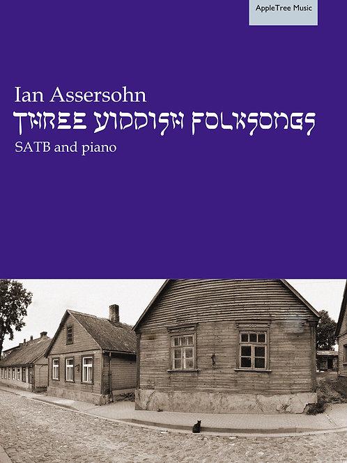 Three Yiddish Folksongs
