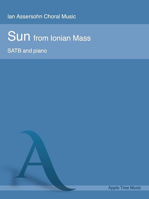 Sun (from Ionian Mass)