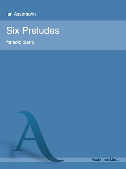 Six preludes for solo piano