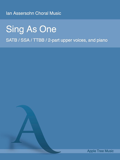 Sing As One
