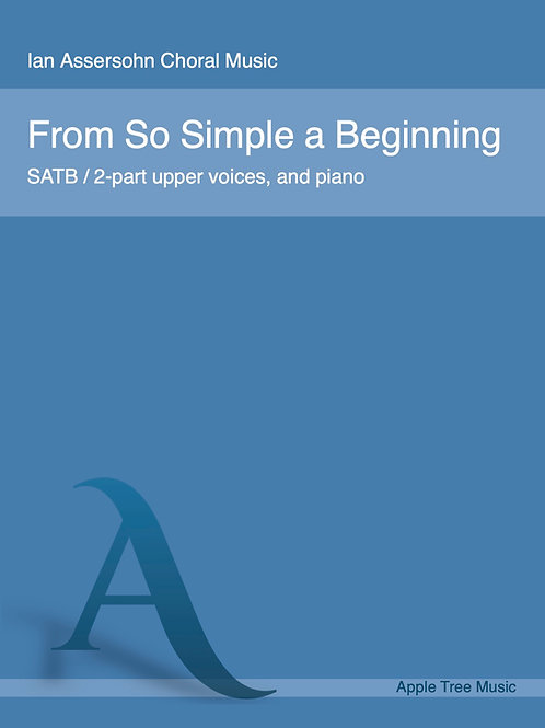 From So Simple a Beginning
