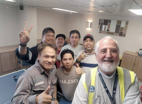 A BLESSING FOR SEAFARERS by Bishop Filadelfo Oliveira Neto