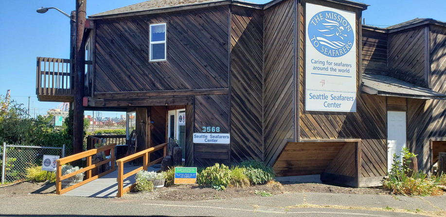 New look of the Seattle Seafarers Center!
