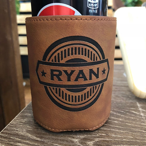 RAWHIDE | personalised can cozy
