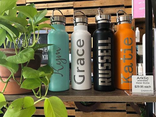 ARKTIC | personalised water bottle