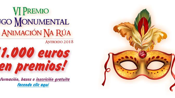 Un año más, Lugo Monumental dará 1.000 euros en premios a la animación callejera en Carnaval